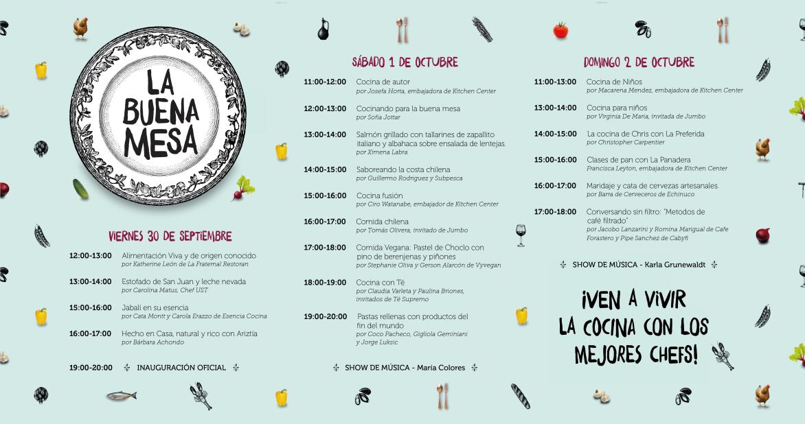 Agenda de actividades banner web